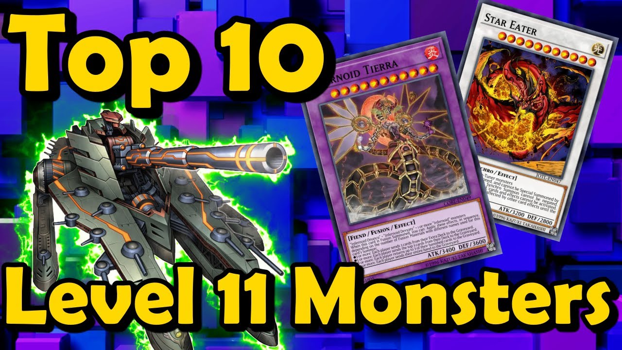 Top 10 Level 11 Monsters in YuGiOh