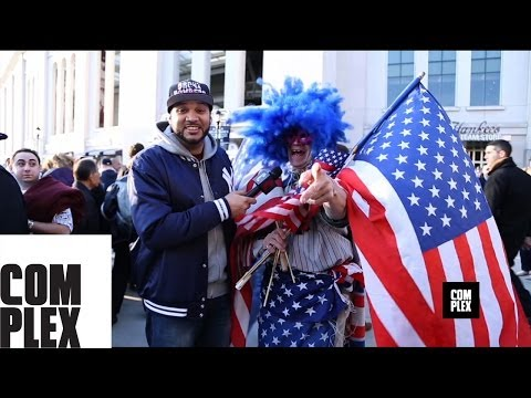 Yankee Stadium on Game Day With The Kid Mero On Complex