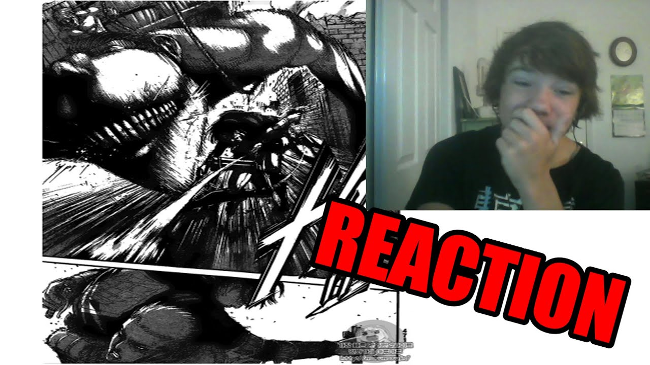 attack on titan manga chapter 83 reaction hes alive