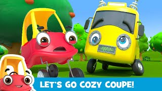 Robot Buster is Being Mean!  Stand Up to Bullies! | Kids Videos | Cozy Coupe  Cartoons for Kids