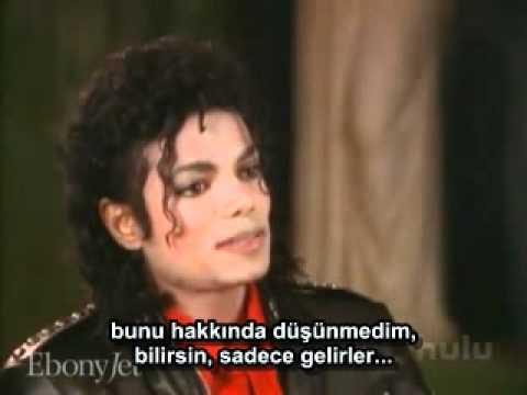 Türkçe Altyazılı Michael Jackson Ebony Jet Magazine Röportajı (1987)