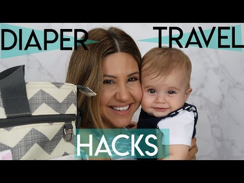 Travel Hacks for Your Diaper Bag