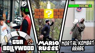 PARODIE JEUX VIDEO : GTA Bollywood / Mario Russe / Mortal Kombat Arabe
