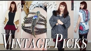 Vintage Themed Online Fashion Picks; Retro '60's, 70's & 80's!