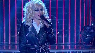 Laura Esquivel es Christina Aguilera - Tu Cara me Suena 2015