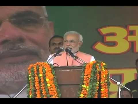 Narendra Modi Addressing Raily in Sri Ganganagar by Apna Ganganagar Part-2