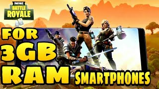 How to Play Fortnite on Incompatible Android Devices | for 3GB ram smartphones |