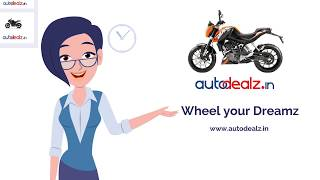 autodealz in India's first Pre-owned bike studio