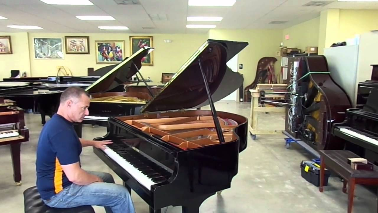 yamaha a1 baby grand for mark youtube. Black Bedroom Furniture Sets. Home Design Ideas