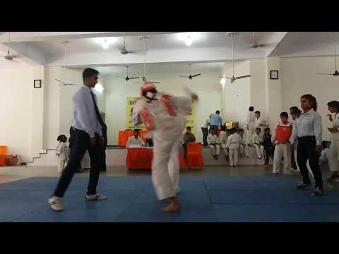 Martial arts fight in India Jatin/UMA Student/ Red Corner 2017