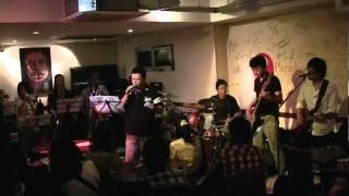 徳島でTower of powerの曲のカヴァーを中心に活動しているバンド、A.O.P...