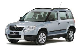 Замена лобового стекла на Škoda Yeti в Казани.