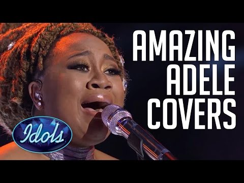 Top 5 Best Adele Hello Covers On Idols | Live Performances F