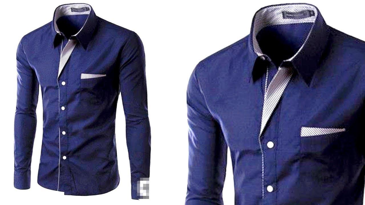 20574930 Shirt cutting|Designer shirt for men| designer shirt ki cutting ...