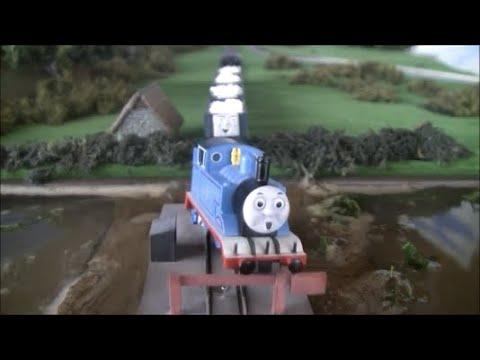 Nゲージトーマス トーマスのテーマ 3期 事故 N Scale Thomas Theme Season 3 Trust Thomas