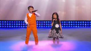Little Big Shots   Amazing Kids Singing Duo Episode Highlight