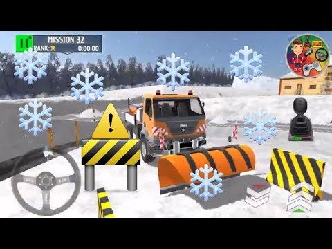 KAR KÜREME ARACI OYUNU   WİNTER SKİ PARK SNOW DRİVER   DİREKSİYONLU ARABA OYUNU   COLOR OYUN GAMES
