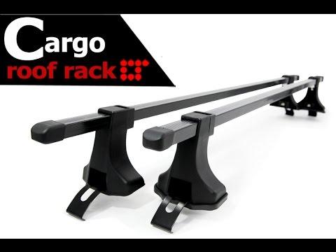 universal roof rack crossbar installation guide by lt sport cb bu 4d
