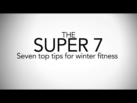 Stay at your Physical Peak during winter - 7 Top Fitness Training Tips from Olympic Athletes