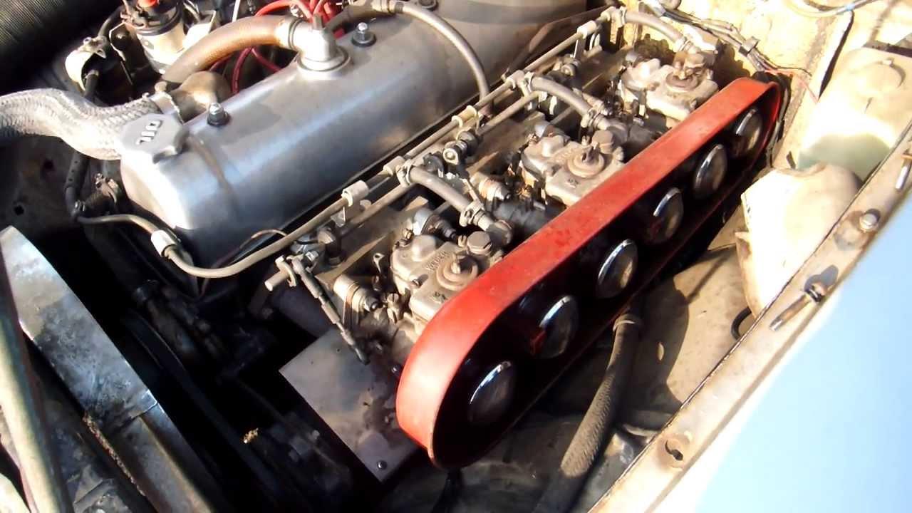 1966 Prince Skyline 2000 Gt B Model S54b 2 G7 Engine Youtube