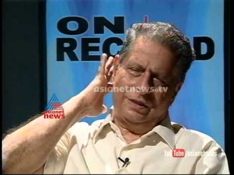 Interviewing M V Raghavan: On Record by T N Gopakumar Part 2