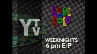 YTV (1992) - Rock'n Talk Promo