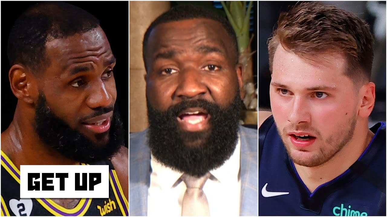 LeBron got tired of hearing about Luka and came out like a freight train - Kendrick Perkins | Get Up