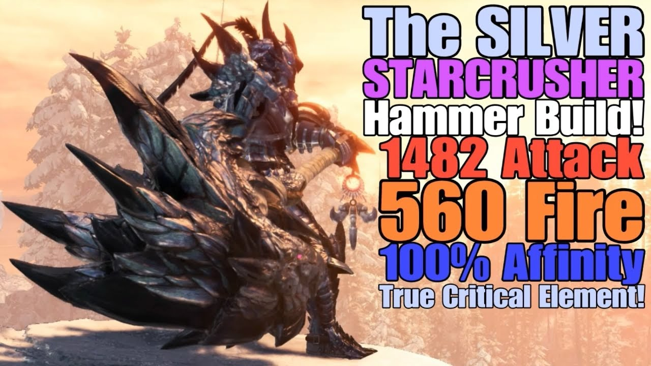 Mhw Iceborne The Silver Starcrusher Hammer Build Leonid Starcrusher Youtube Information on the shara ishvalda β + armor set, including stats, abilities, and required materials to craft all of its pieces. mhw iceborne the silver starcrusher hammer build leonid starcrusher