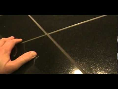 Merveilleux How To: Tutorial On My Granite Tile Counter Top / Bar Top   YouTube