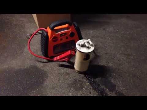 tuto m canique tester le fonctionnement de sa pompe essence youtube. Black Bedroom Furniture Sets. Home Design Ideas