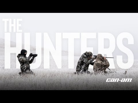 THE HUNTERS - Buffalo Hunt In South Dakota