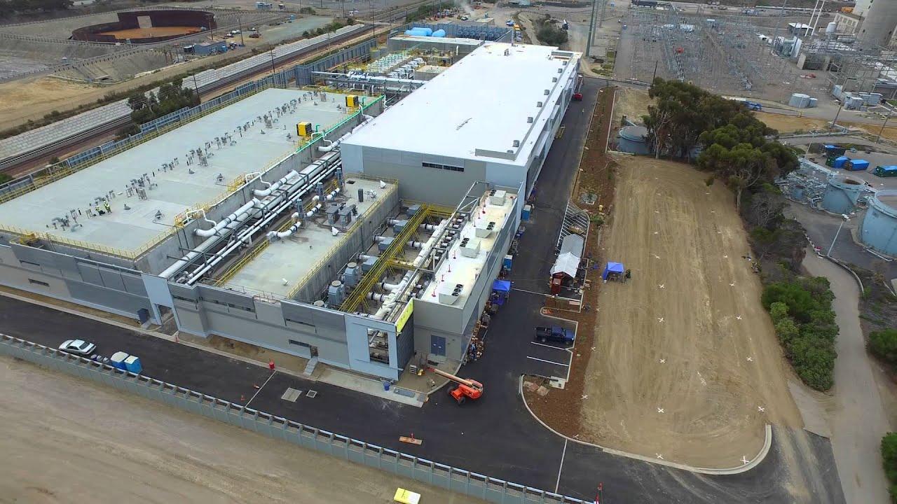 Carlsbad Desalination Plant Flyover September 2015