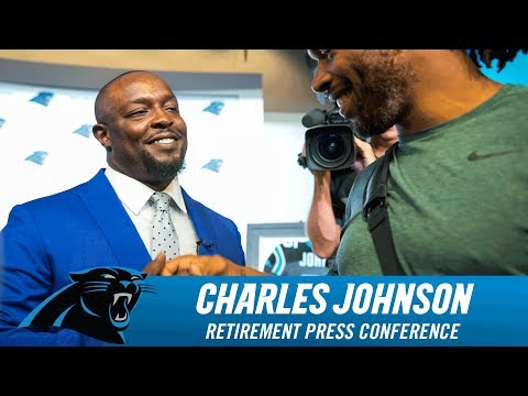 Charles  Johnson Retirement Press Conference