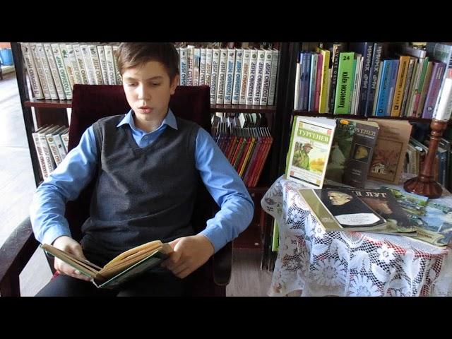 Изображение предпросмотра прочтения – ТимофейДудкин читает произведение «Стихотворение в прозе Воробей» И.С.Тургенева