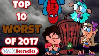 Top 10 Worst Cartoon Episodes of 2017