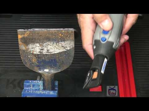 How To Sharpen Garden Tools With Dremel Rotary Tool