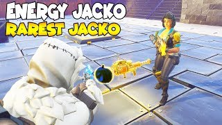 He Loses ENERGY Jack o Launcher 😱 (Scammer Gets Scammed) Fortnite Save The World