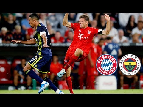 Triple-Müller And Sixpack Take FCB To The Final   FC Bayern Vs. Fenerbahce 6-1   Highlights Audi Cup