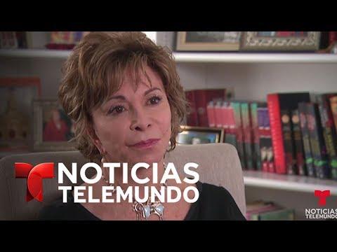 Entrevista Completa A La Escritora Chilena Isabel Allende | Noticias | Noticias Telemundo