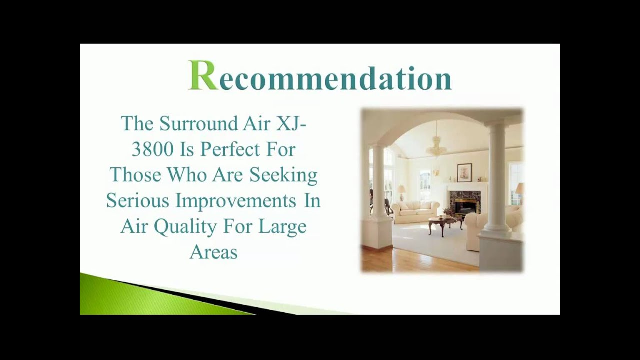 Surround Air Xj 3800 Review Discover The Intelli Pro