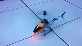 CARA MEMAINKAN R/C HELICOPTER REMOT CONTROL 3.5 CHANEL