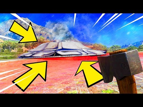 Come far schiantare l'ufo su gta 5 online!!
