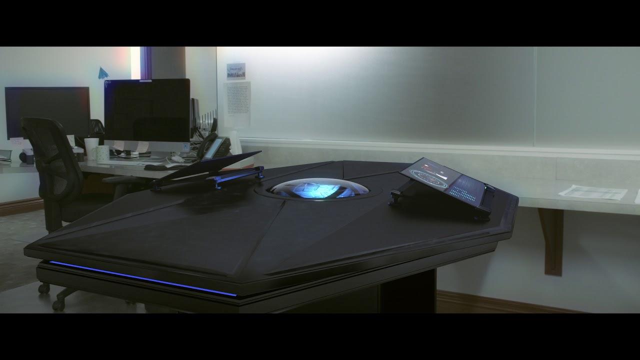Futuristic Desk