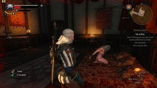 The Witcher 3 - Random Hidden Naked Woman Tied to Bed and Possible Secret Location
