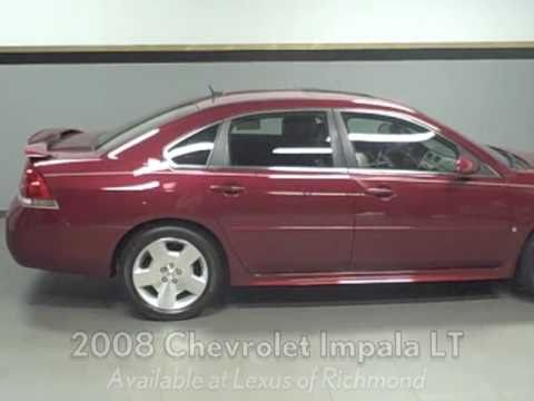 Pre Owned Lexus >> 2008 Chevrolet Impala LT 50th Anniversary Edition Available at Lexus of Richmond - YouTube