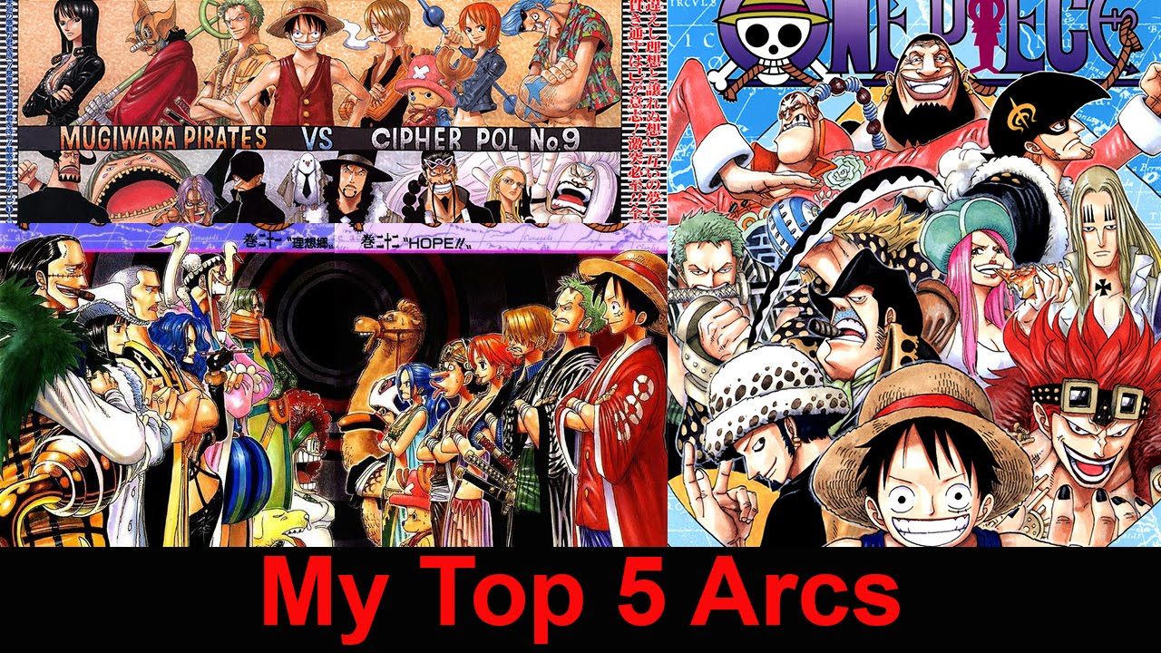 My Top 5 One Piece Arcs - YouTube