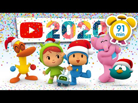 🍇 POCOYO in ENGLISH - New Year's Eve [ 91 minutes ]   Full Episodes   VIDEOS and CARTOONS for KIDS