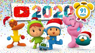 🍇 POCOYO in ENGLISH - New Year's Eve [ 91 minutes ] | Full Episodes | VIDEOS and CARTOONS for KIDS