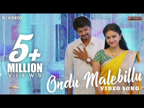 Ondu Malebillu | Vijay | Keerthi Suresh | New HD edited | Mix version Song