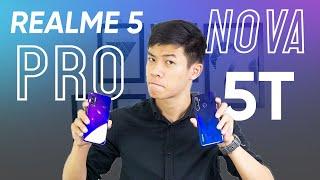 Realme 5 Pro NGON NHƯNG ... có nên lên Huawei Nova 5T?